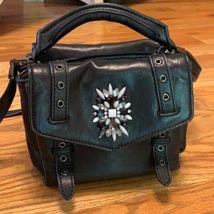 Cynthia Rowley Black Posy Crossbody Bag $225